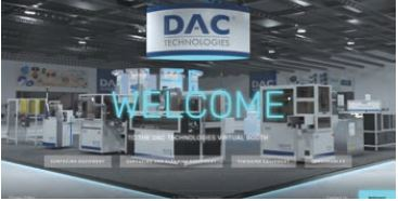 DAC's Virtual trade show booth