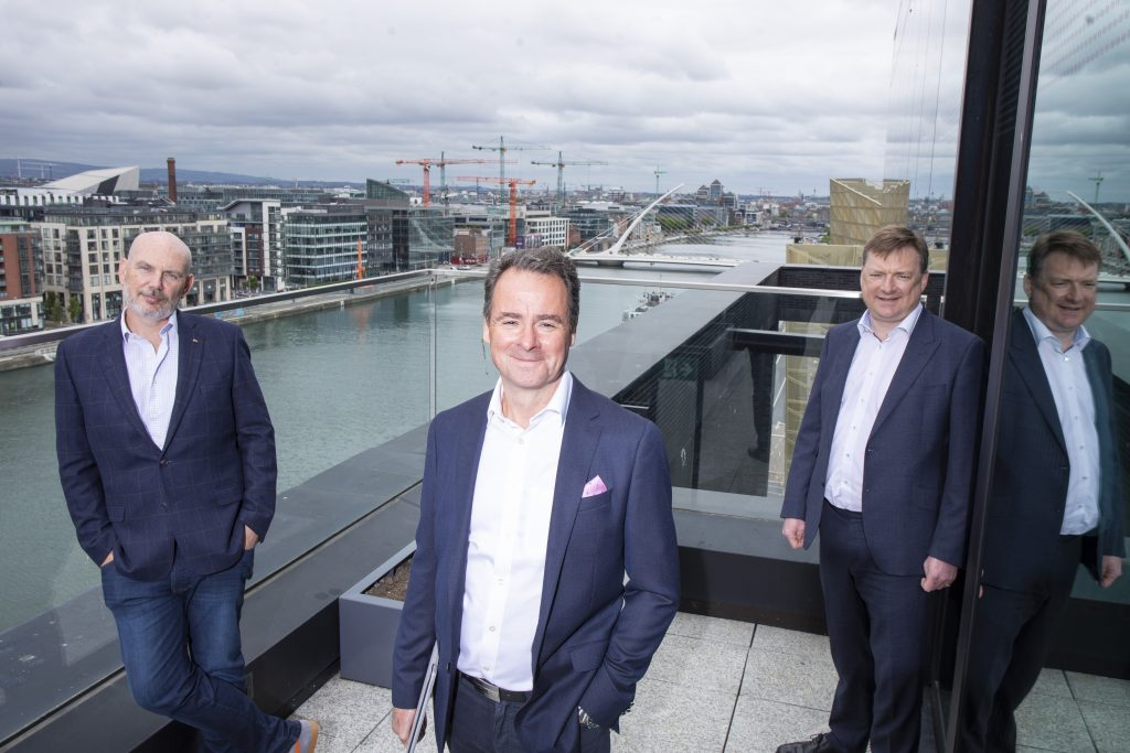 Fergal McAleavy, Senior Investment Director ISIF; Leo Mac Canna, Founder and CEO, Ocuco; Nick Ashmore, Director, ISIF. Picture Fennell Photography.jpg