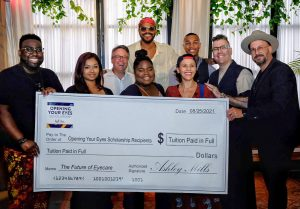 Maxwell honors recipients of Opening Your Eyes Scholarship Fund