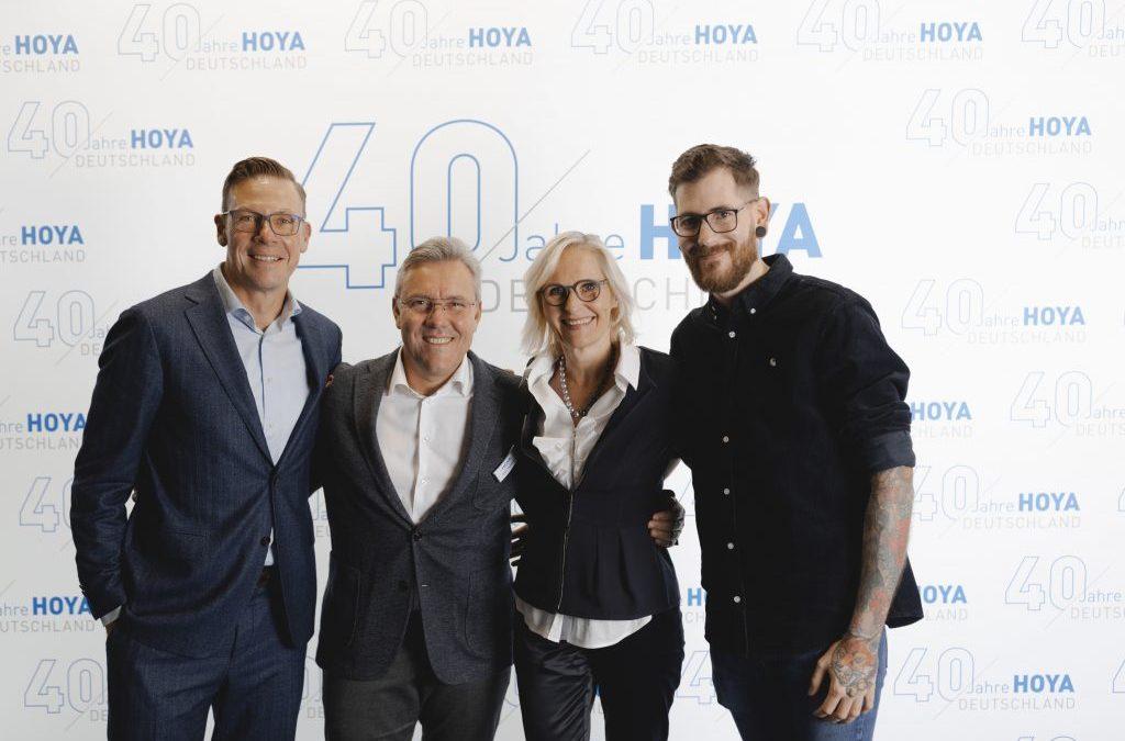 Hoya celebrates 40 years in Germany