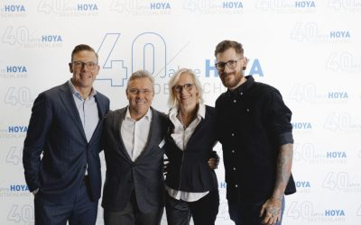 Hoya celebrates 40 years in Germany