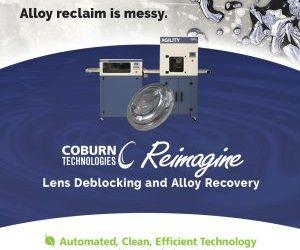 Reimagine: Novel lens surfacing technology from Coburn Technologies